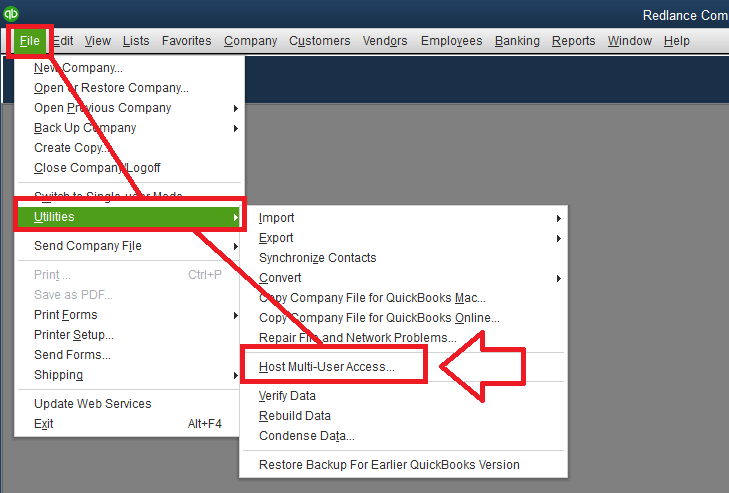 Setup Multi-user Access in Quickbooks
